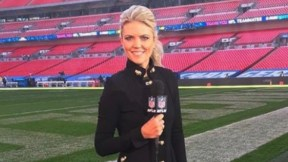 Melissa Stark, periodista de NFL Network.