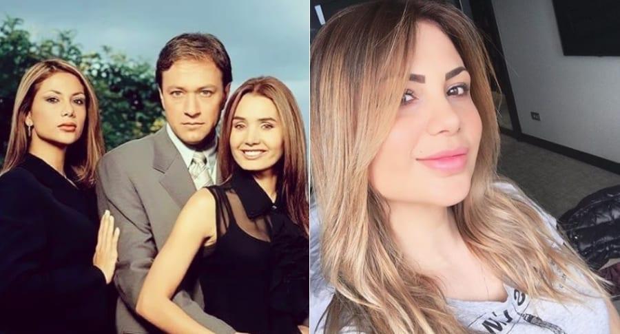 Angeline Moncayo, Orlando Pardo y Xilena Aycardi, actores.