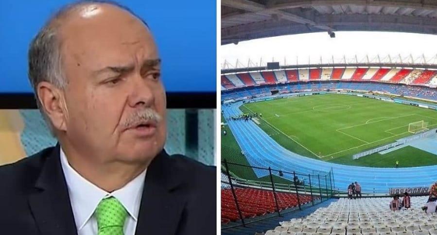 Iván Mejía y estadio Metropolitano