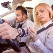 Peligro en carretera - autos