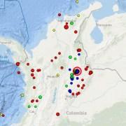 Sismo en Los Santos