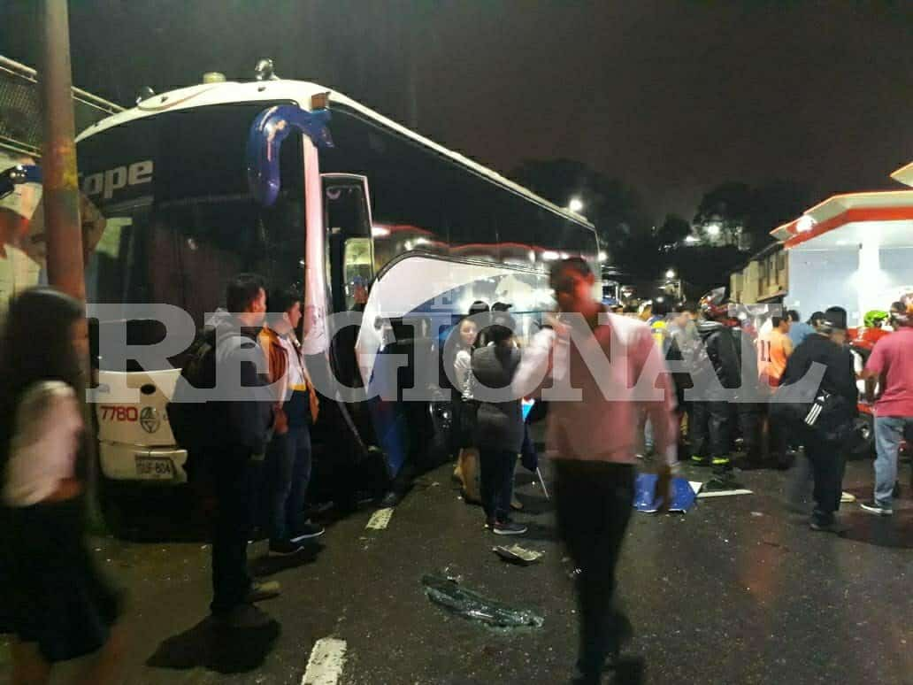 Accidente en Santander