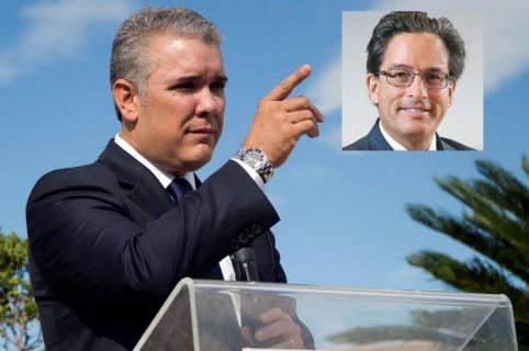Iván Duque y Alberto Carrasquilla