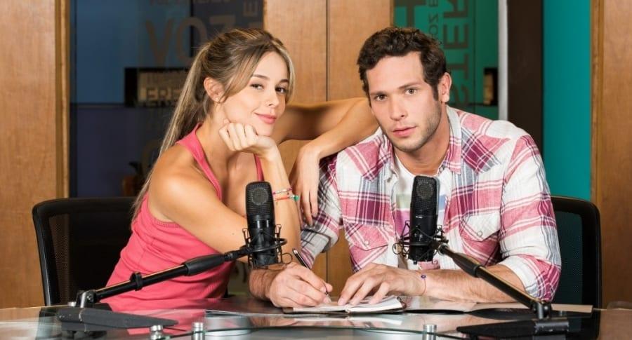 Alejandra buitrago, modelo, y Lucas buelvas, actor.