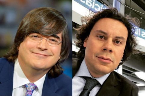 Jaime Bayly y Hassan Nassar