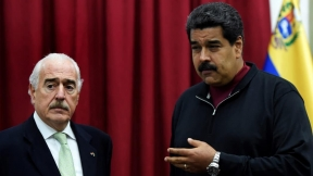 Pastrana y Maduro