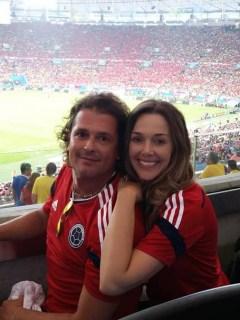 Carlos Vives y Claudia Elena Vásquez
