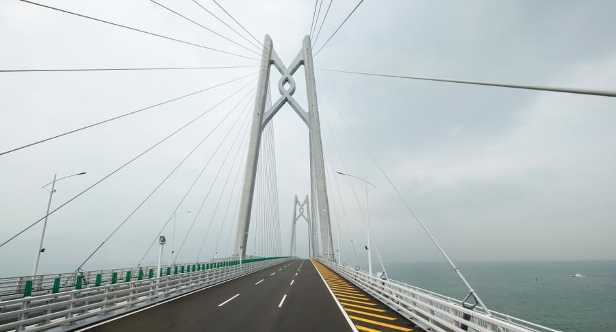Puente de China a Hong Kong y Macao