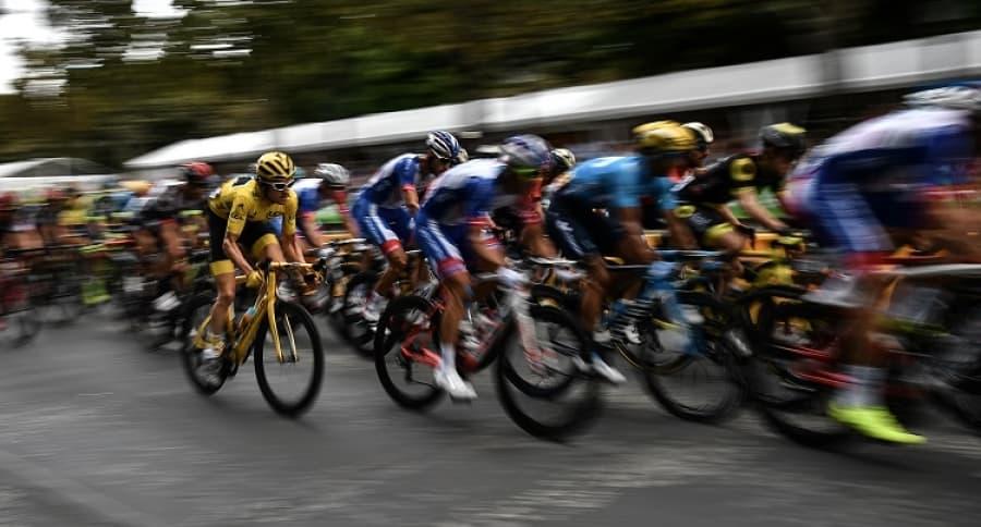 Lote de ciclistas
