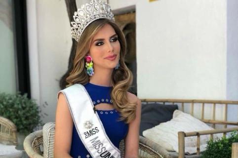 Ángela Ponce, Miss España.