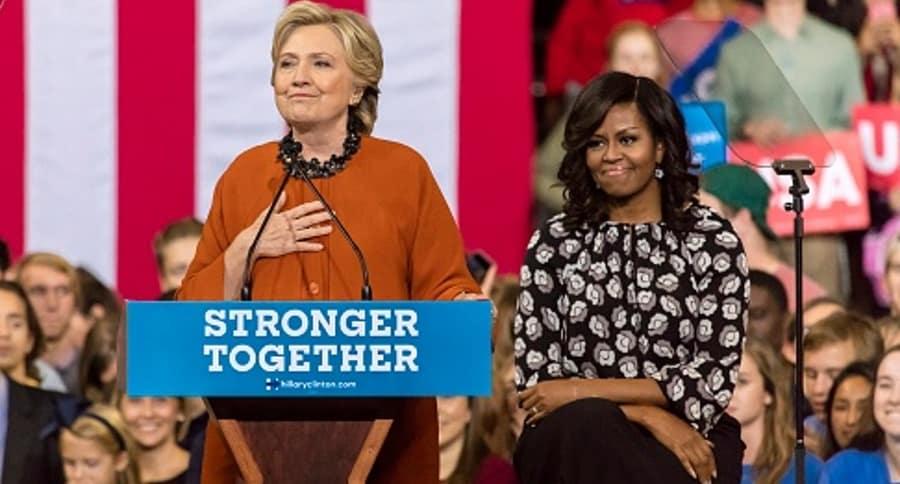 Hillary y Michelle