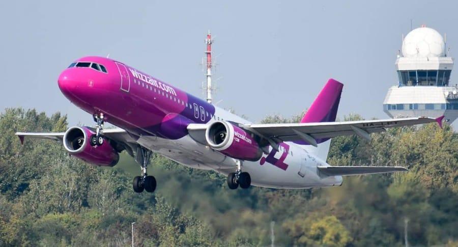 Avión WizzAir