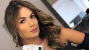 Sara Uribe, presentadora y modelo.