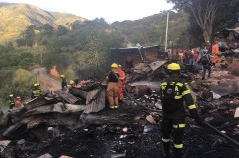 Incendio en Bucaramanga