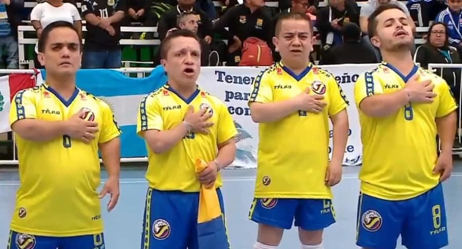 Selección Colombia de talla baja