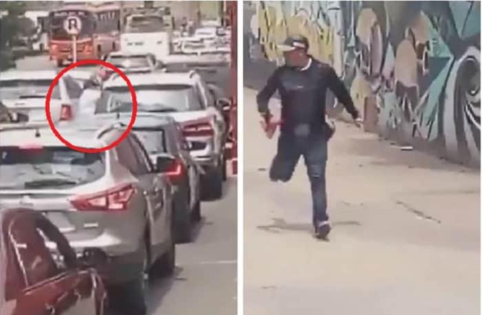 Ladrones en el norte de Bogotá