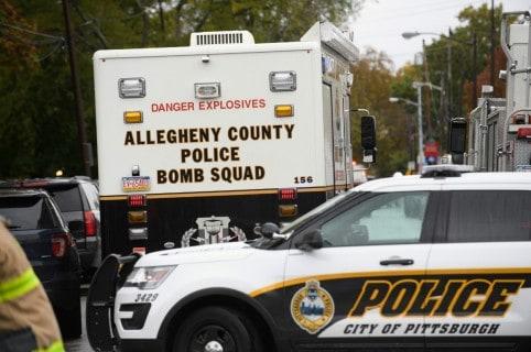 Policía rodea la sinagoga de la ciudad de Pittsburgh