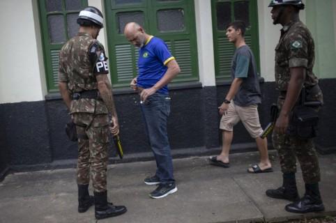 Brasil Policía Votaciones