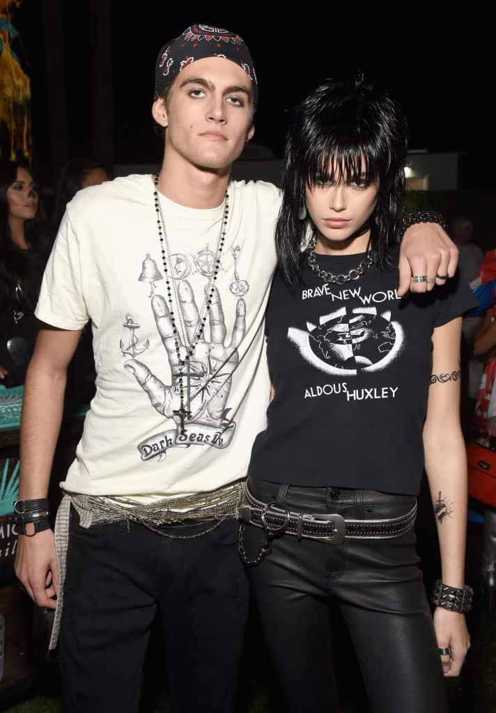 Presley Gerber y Kaia Gerber