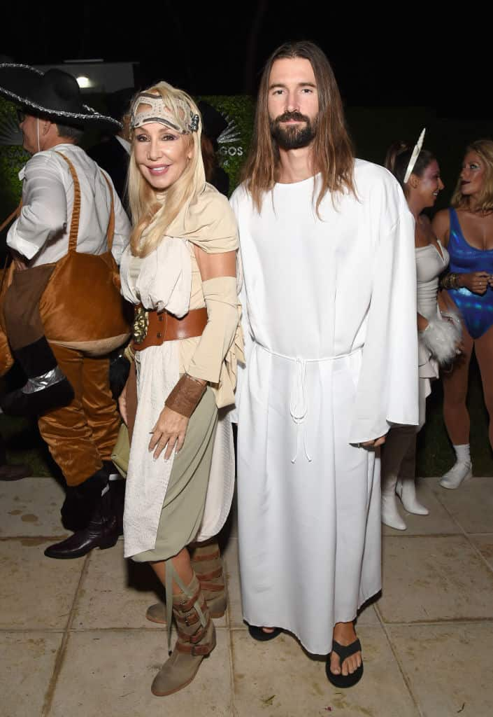 Linda Thompson y Brandon Jenner