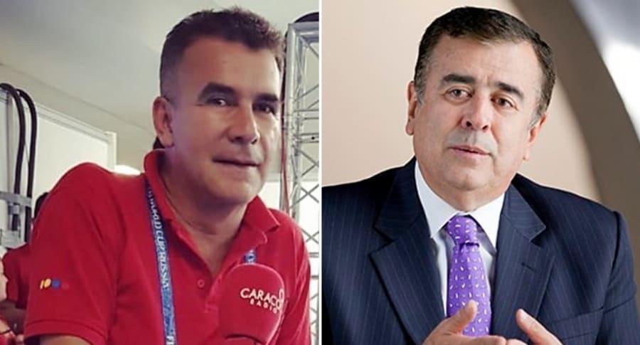 Diego Rueda y Javier Hernández Bonnet