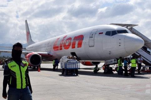 El Boeing 737 de Lion Air