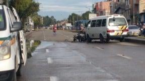 Accidente en la Avenida Mutis