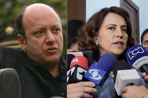Julio Sánchez Cristo y Nancy Patricia Gutiérrez