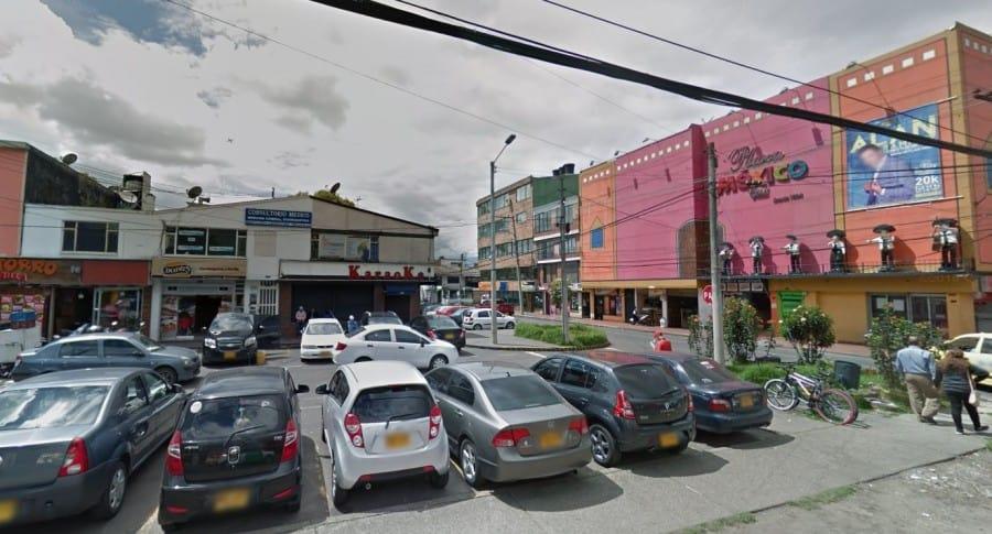 Zona rosa de Modelia, en el occidente de Bogotá