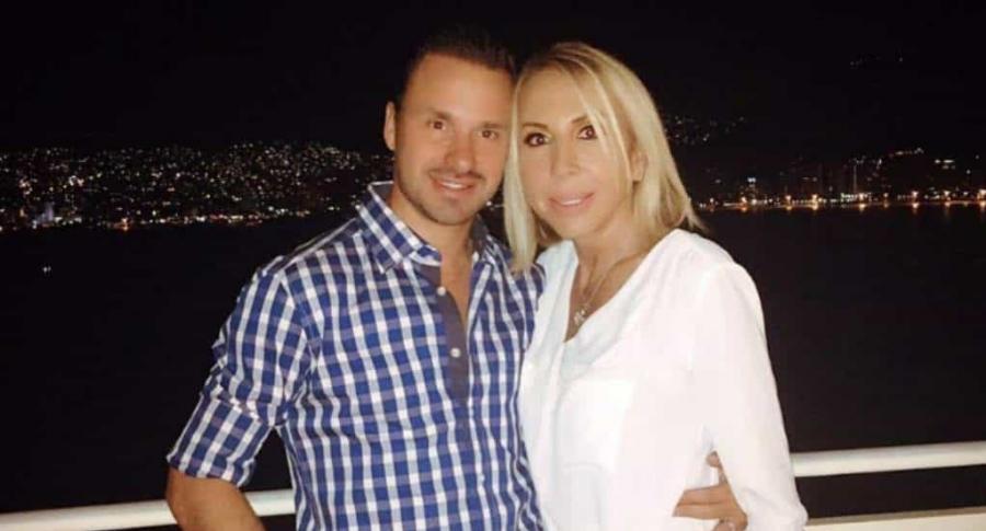 Laura Bozzo y Christian Suárez