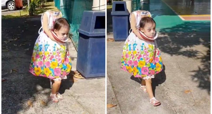 Videos El Disfraz De La Nina Sin Cabeza Que Resulto Adorablemente - Disfraces-sin-cabeza