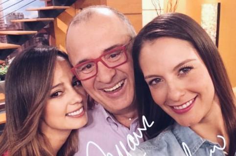 Milena López, Jota Mario y Laura Acuña