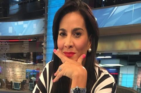 Vanessa de la Torre, presentadora.