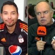 Steven Arce e Iván Mejía