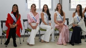 Candidatas Concurso Nacional de la Belleza de noviembre de 2018.