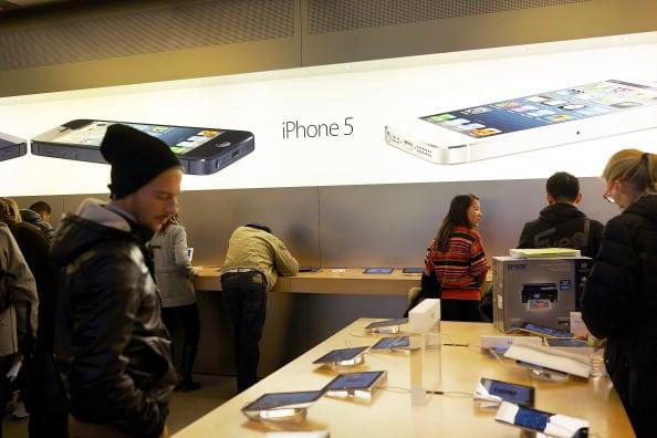 iPhone 5 en App Store