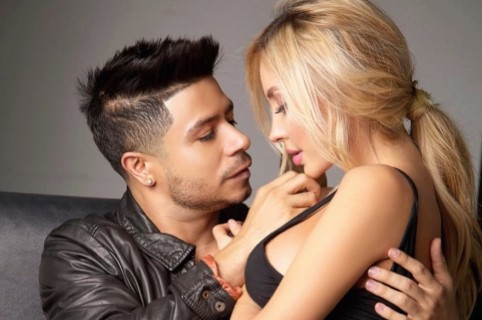Daniel Calderón y Anita Beleño