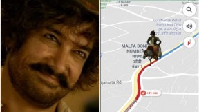 Personajes de 'Thugs of Hindostan' en Google Maps