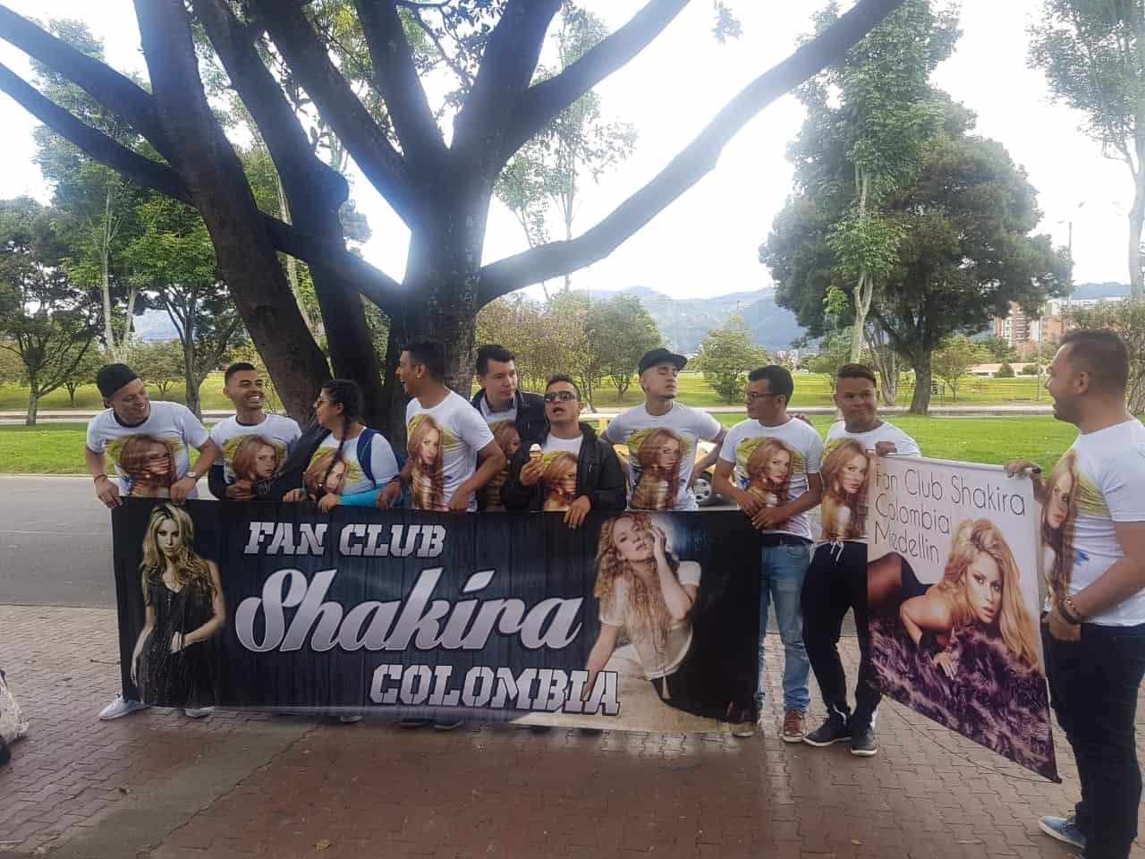 Filas para ver a Shakira en el Parque Simón Bolívar