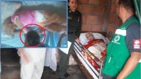 Abuelita maltratada por enfermera