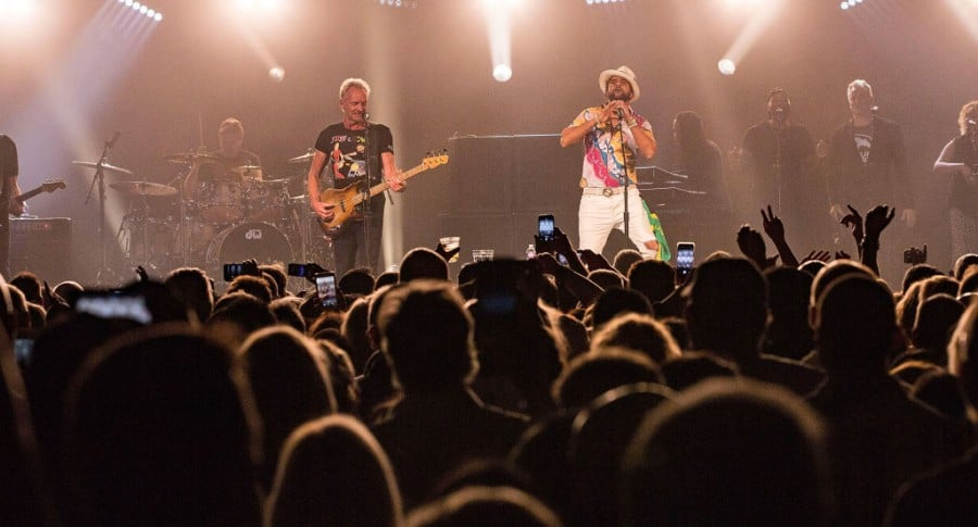 Concierto de Sting y Shaggy en Valley Center, California