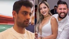 Daniel Correa; Cristina y su esposo Edison Brittes