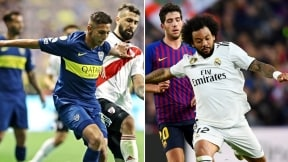 Boca-River y Barcelona-Real Madrid