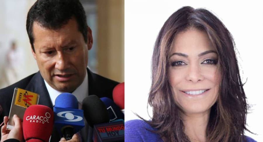 Jaime Lombana y Diana Calderón
