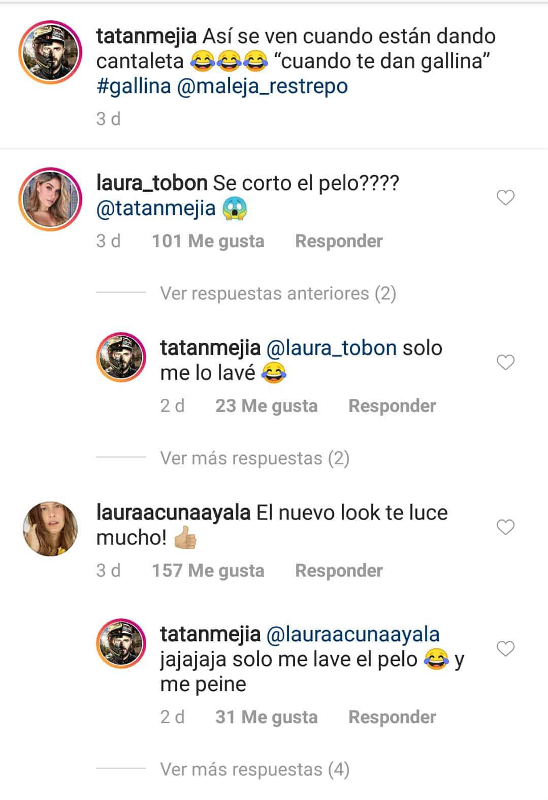 Comentario de Laura Acuña a Tatán Mejía