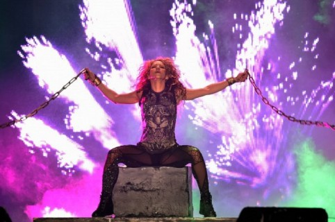 Shakira en concierto