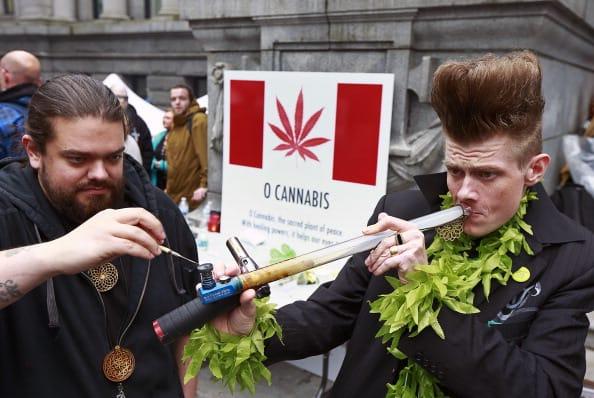 Canadá lagalización marihuana