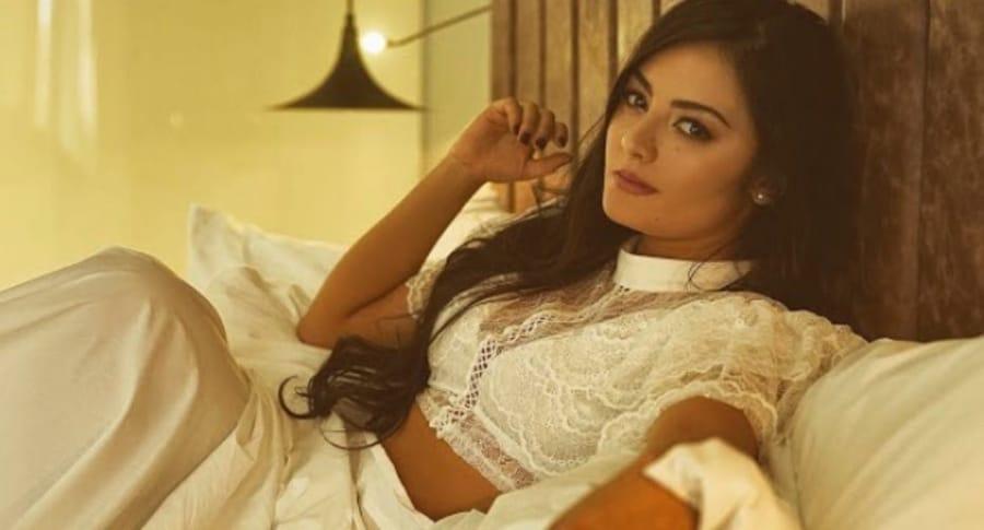 Yuri Vargas, actriz colombiana.