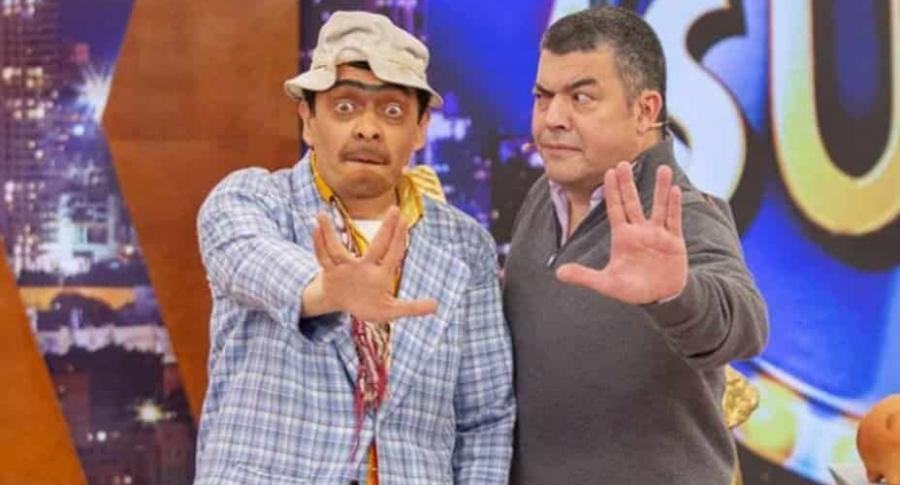 Suso y Gustavo Gómez, director de 'La Luciérnaga'.