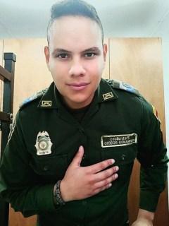 Patrullero Fernando Rosero Rojas, muerto